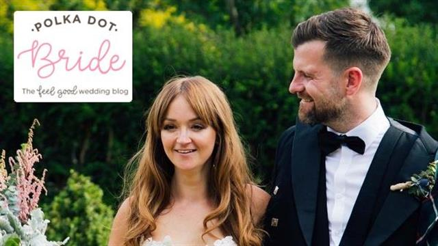 Carolann & Steven's Scottish Garden Wedding on Polka Dot Bride